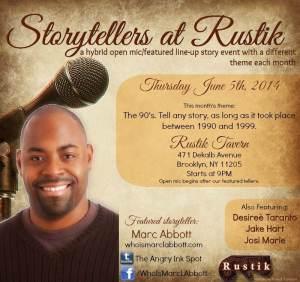 Storytellers at Rustik